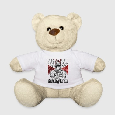Knights Templar Knights Crusaders Middle Ages - Teddy Bear