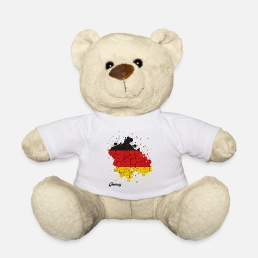 Federal Republic Of Germany Federal Republic of Germany countries outline gift - Teddy Bear
