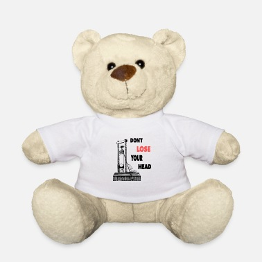 Macabre Head Lose Black Humor Macabre Gift - Teddy Bear