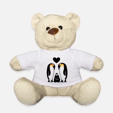 Famile Family Family Famille penguin family Penguins - Teddy Bear