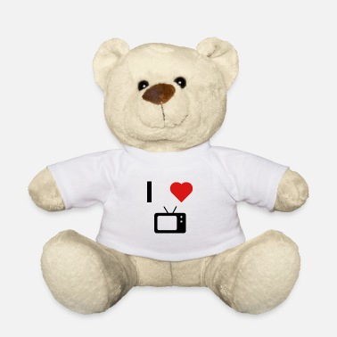 Tv I love TV - Ours en peluche