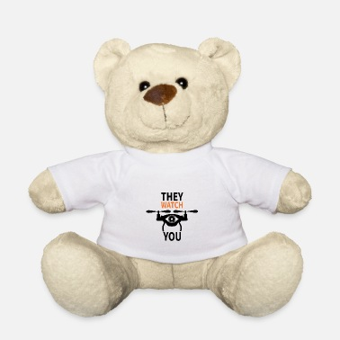 lockdown drone monitoring cash - Teddy Bear