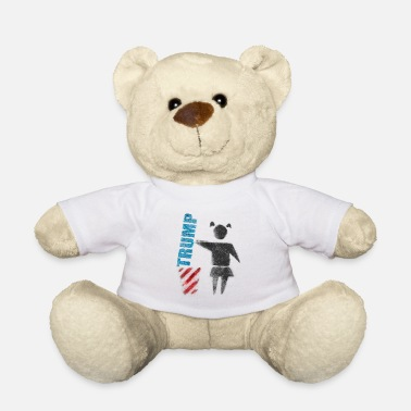 Trump No to Trump (dump Trump) - Teddy Bear