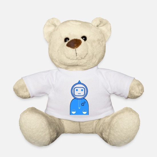 Star Teddy Bear Toys - astronaut - Teddy Bear white
