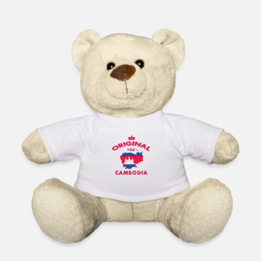 Siem Reap Cambodia 100% Original / Flag Gift - Teddy Bear