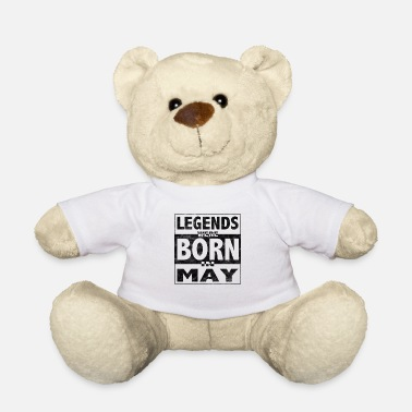 Vriendin Legends werden in May Legends-cadeau geboren - Teddy
