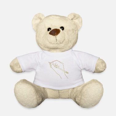 Line Drawing Draw Drawing Human Hand Drawing Line Drawing - Teddy Bear