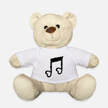 Heart Musical note with heart music design - Teddy Bear