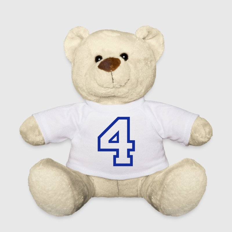 THE NUMBER 4-4 - Teddy Bear