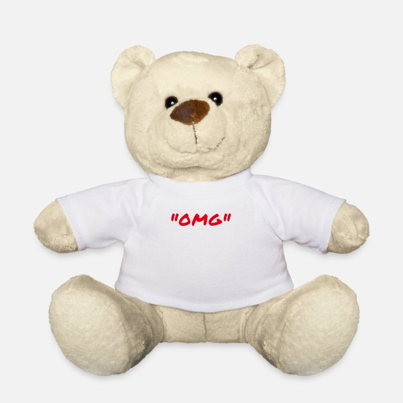 Omg Teddy Bear Toys - OMG - Teddy Bear white