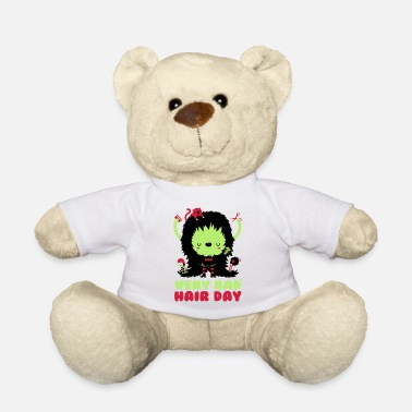 Spreadshirtlikes bad_hair_day - Ours en peluche