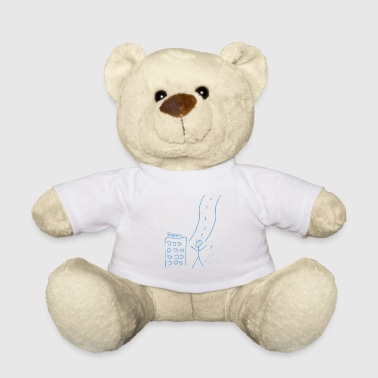 Pre School Graduation High school graduate stick figure Graduation diploma - Teddy Bear