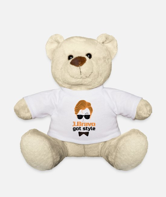 Chic Teddy Bear Toys - Style - Teddy Bear white