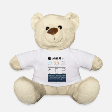 Saturn Aquarius Characteristics - Teddy Bear
