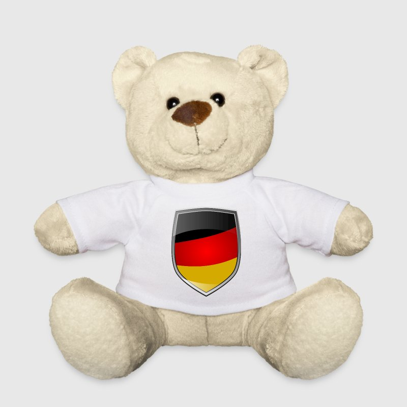 Shield with German Flag - Osito de peluche