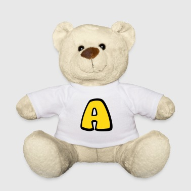 Alphabet A - Teddy Bear