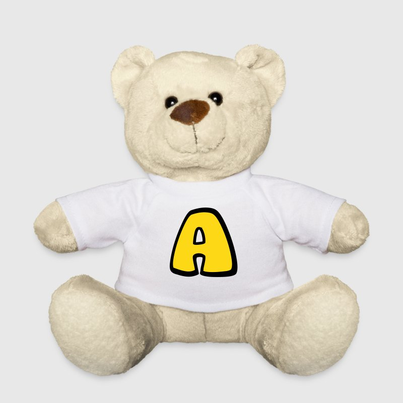 Alphabet A - Teddy