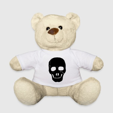 Punk Rocker Skull, skeleton, Skrull, punk rocker, metal, - Teddy Bear