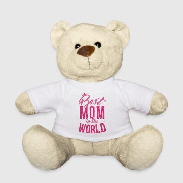 Mother's Day T-shirt - Best Mom in the World - Nounours