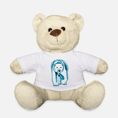 ours polaire - Ours en peluche