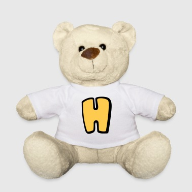 Alphabet H - Teddy Bear