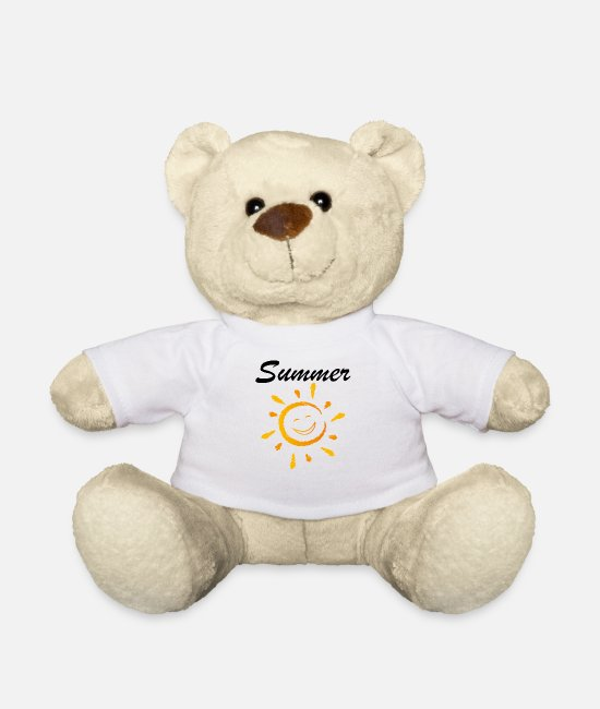 Water Teddy Bear Toys - Summer summer - Teddy Bear white