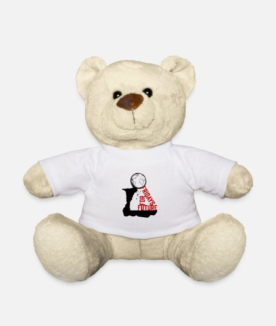 Nature Teddy Bear Toys - Fridays For Future | save the world - Teddy Bear white