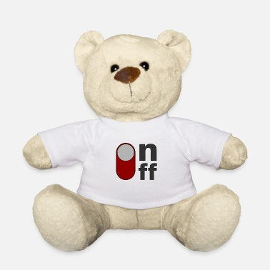 Off on off off on - Ours en peluche