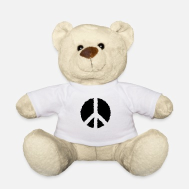 Peace PEACE PEACE- - Teddy Bear