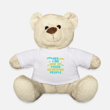 Skydiver Skydiving skydiving skydiving parachute - Teddy Bear