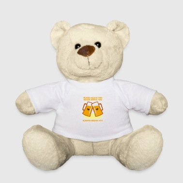 Beer beer pils wheat party gift idea - Teddy Bear
