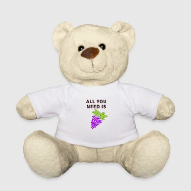 All You Need Is Grapes - Teddy Bear