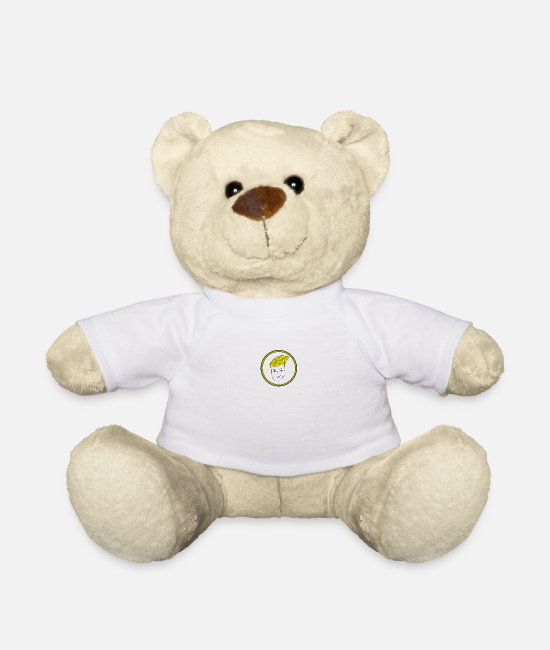 Party Teddy Bear Toys - face - Teddy Bear white