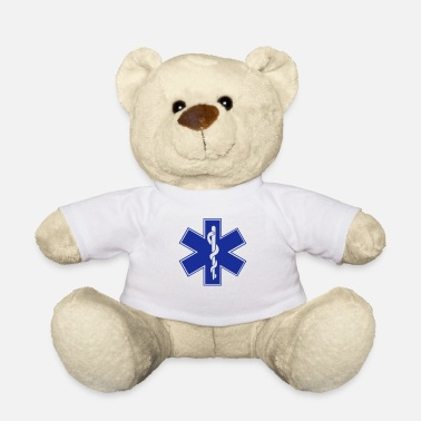 Star Star of Life / EMT Symbol - Teddy Bear