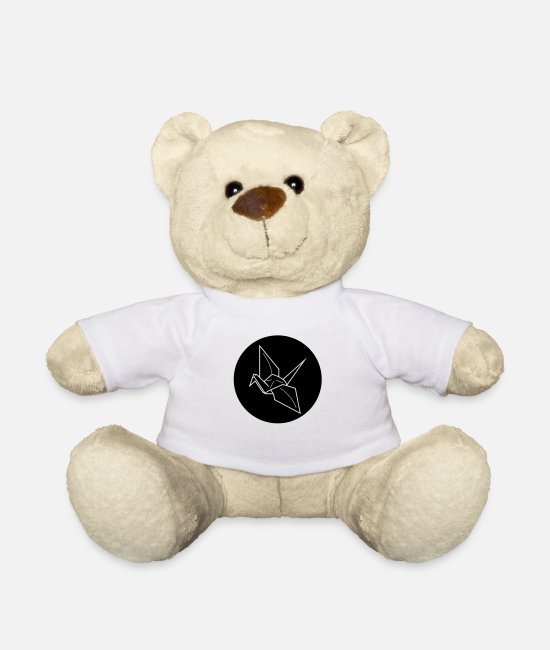 Origami Teddy Bear Toys - Origami - Teddy Bear white