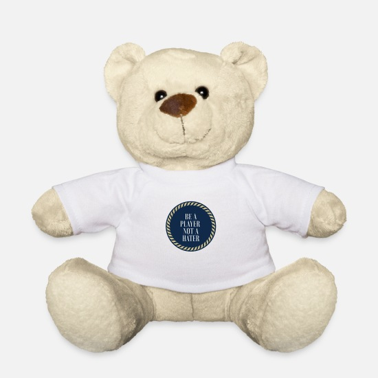 Injured Teddy Bear Toys - Player design - Teddy Bear white