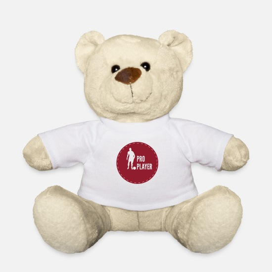 Gift Idea Teddy Bear Toys - Pro player - Teddy Bear white