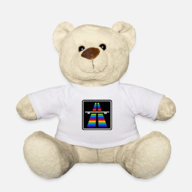 Traffic Rainbow Highway - Teddy Bear
