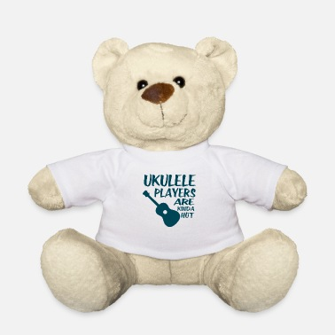 Uk Ukulele players gift musician Hawaii - Teddy Bear