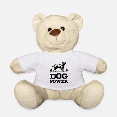 Zwart Dog Power zwart - Teddy