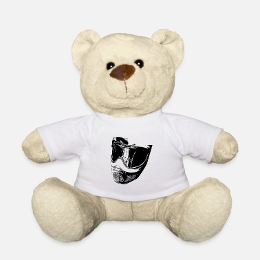 Bino92 Mask black - Teddy Bear