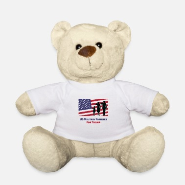 Us Military US Military Families For Trump - Pro Trump US - Teddy Bear