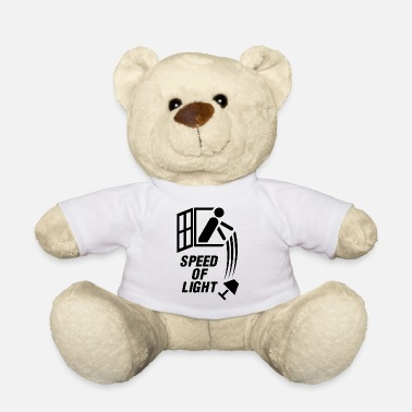 Black Light Speed of light! (Black) - Teddy Bear