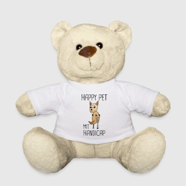 Dog Handicap Pet Funny Sayings Gift - Teddy Bear