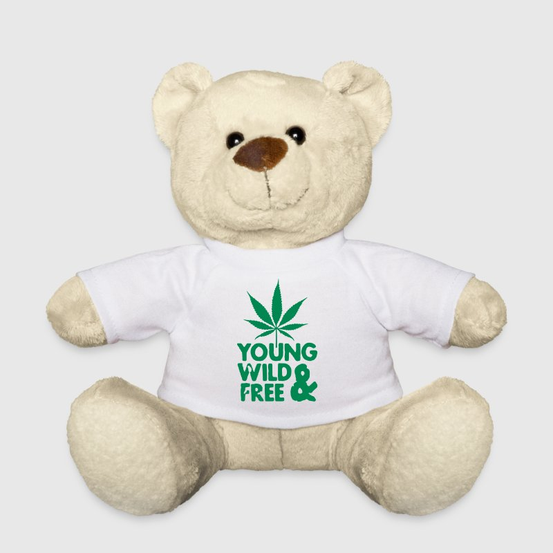 young wild and free weed leaf - Teddy