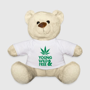 Weed young wild and free weed leaf - Teddy Bear