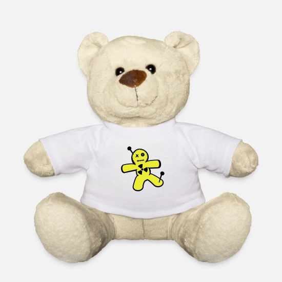 Chernobyl Teddy Bear Toys - Voodoo doll against nuclear power - Teddy Bear white