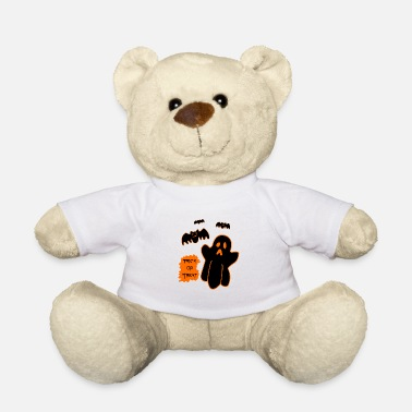 Halloween Kindershirt Truc of traktatie - Teddy