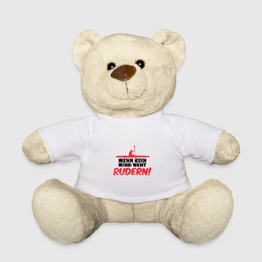 Row White water rafting river ride paddle rowboat - Teddy Bear
