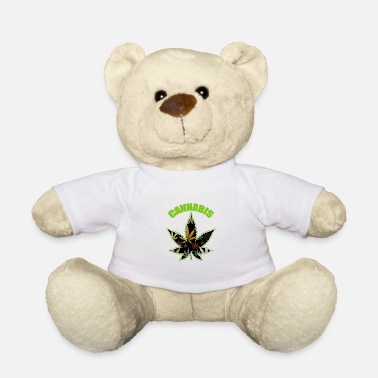 Cannabisblad Cannabisblad - Teddybeer